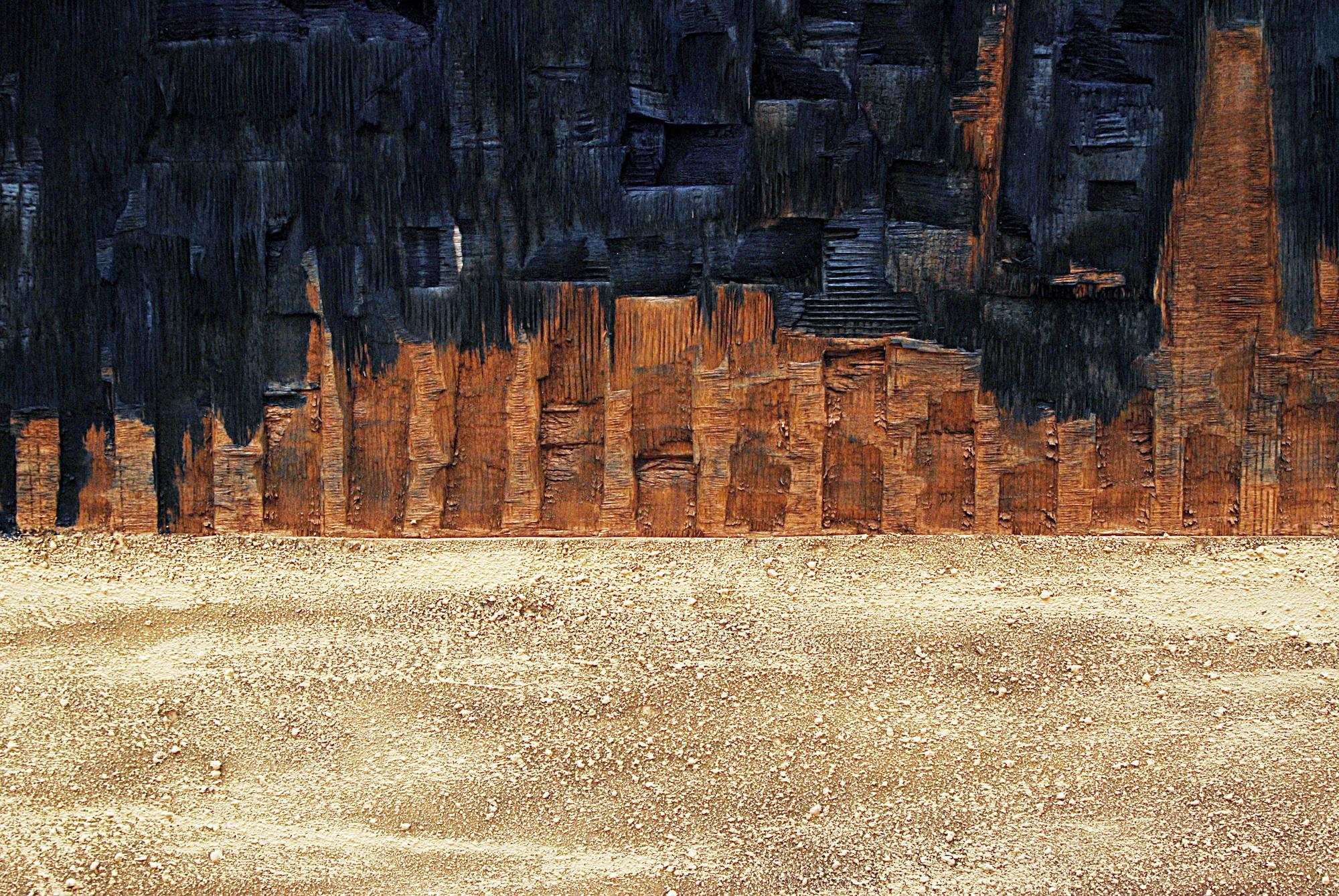Miraggi nel deserto - particolare - foto di Antonio Colombi