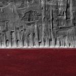 Rosso materico